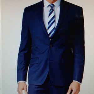 Michael Kors Blue Suit Jacket 40 Short
